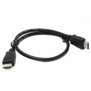 Кабель HDMI 19M-19M V1.4, 0.5 м, черный, 5bites (APC-005-005)
