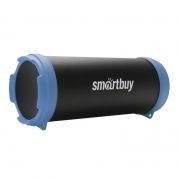 Колонка 1.0 SmartBuy TUBER MKII, Bluetooth, MP3, FM, черный/синий (SBS-4400)