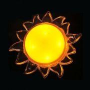 Светильник-ночник КОСМОС Lp1004 Солнце, желтый, 1 LED, 220V (KOCNL_LP1004)