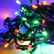Светодиодная гирлянда КОСМОС, мультиколор, 50 LED, 8 режимов, 6.5 м (KOC_GIR50LED_RGB)
