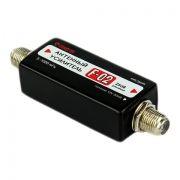 Усилитель ТВ сигнала для антенны, всеволновый, 12В, 25 дБ, Connector F-02