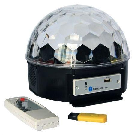 Светодиодная диско-лампа КОСМОС 145, c MP3 (KOCNL-EL145_music)