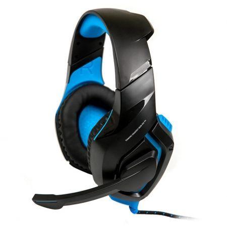 Гарнитура DIALOG HGK-31L 7.1 Blue, игровая, объемный звук 7.1 с подсветкой и рег. громкости