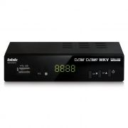 Цифровой телевизионный ресивер DVB-T2 BBK SMP240HDT2 черный