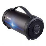 Колонка 1.0 Perfeo PF_A4317, Bluetooth, MP3, FM, 19W, 4400 мАч, черная