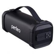 Колонка 1.0 Perfeo PF_A4319, Bluetooth, MP3, FM, 12W, 2200 мАч, черная