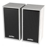 Колонки Perfeo Cabinet, белый дуб, USB (PF_A4389)