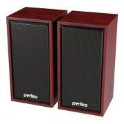 Колонки Perfeo Cabinet, махагон, USB (PF_A4388)
