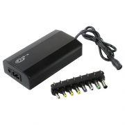 Адаптер питания для ноутбука KS-is KS-272 Duazzy, 100 Вт 12-24В, USB + 8 разъемов