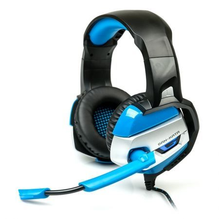 Гарнитура DIALOG HGK-37L Blue, игровая, с подсветкой и рег. громкости
