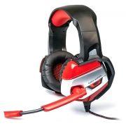 Гарнитура DIALOG HGK-37L Red, игровая, с подсветкой и рег. громкости