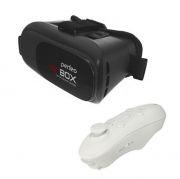 Очки виртуальной реальности для смартфона с пультом, черные, Perfeo  PF-VR BOX 2+ Black (PF_A4031)