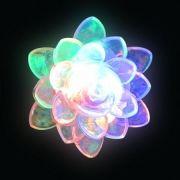 Светильник-ночник КОСМОС Kl0001 Цветок, RGB, без выключателя, 220V (KOCNL_KL0001)
