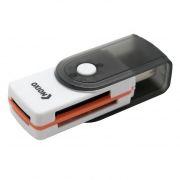 Карт-ридер внешний USB Oxion OCR013BK, черный