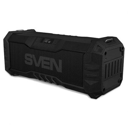 Мини аудио система SVEN PS-430, MP3, FM, Bluetooth, черная