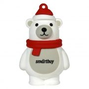 32Gb SmartBuy Wild series Белый Медведь (SB32GBPolarBear)