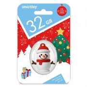 32Gb SmartBuy Wild series Снеговик Snow Paul (SB32GBSnowP)