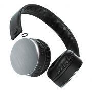 Гарнитура Bluetooth Qumo Metallic ВТ-0021, темно-серая (24075)