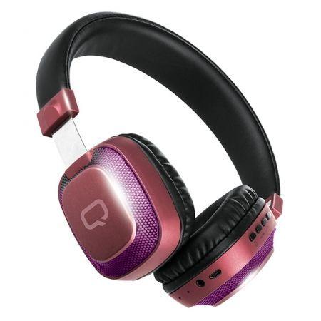 Гарнитура Bluetooth Qumo Style 2 ВТ-0023, подсветка (24077)