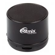 Колонка 1.0 RITMIX SP-130B, MP3, FM, Bluetooth, черная