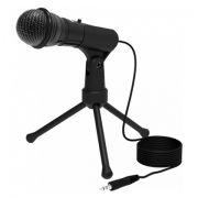 Микрофон RITMIX RDM-120 Black, конденсаторный, подставка