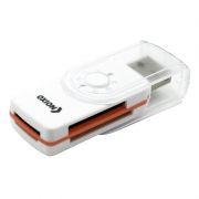 Карт-ридер внешний USB Oxion OCR013WH, белый