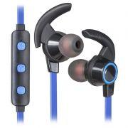 Гарнитура Bluetooth DEFENDER B725 OutFit, черно-синяя (63725)