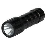 Фонарь SmartBuy, пластиковый, 1 LED, 1 W, 3xAAA (SBF-41-B)