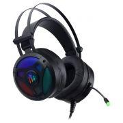 Гарнитура Perfeo TITAN 7.1, игровая, RGB-подсветка, чернaя, USB (PF_A4421)