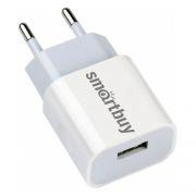 Зарядное устройство SmartBuy FLASH, 2.4A USB, белое (SBP-1024)