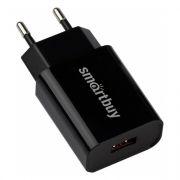 Зарядное устройство SmartBuy FLASH, QC3.0 3A, USB, черное (SBP-1030)