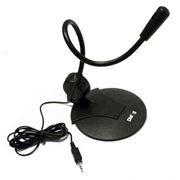 Микрофон DIALOG М-103B, черный, гибкий, конденсаторный