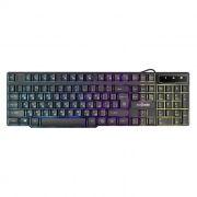 Клавиатура игровая Defender Mayhem GK-360DL с подсветкой, черная, USB (45360)