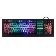Клавиатура игровая Nakatomi KG-33U USB, подсветка, черная
