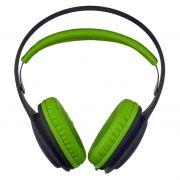 Наушники PERFEO ONTO, черные/зеленые (PF_A4410)
