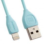 Кабель USB 2.0 Am=>Apple 8 pin Lightning, 1 м, синий, REMAX RC-050i (0L-00035746)