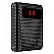 Зарядное устройство Hoco B20 Mige, 10000 мА/ч, 2.1A 2xUSB, дисплей, черное