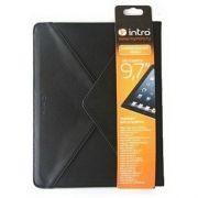 Чехол для планшета 9.7, кожзам, черный, INTRO Case9702B