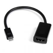 Адаптер mini DisplayPort/M - HDMI/19F, 0.2 м, черный, Orient C302 (30302)
