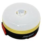 Фонарь SmartBuy с карабином, магнит. крепление, аккумуляторный, белый, 3W LED + 2W COB (SBF-CL25)