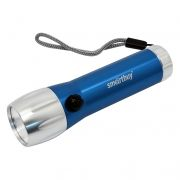 Фонарь SmartBuy, алюминиевый, синий, 3XAAA, 1W COB (SBF-108-B)