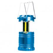 Фонарь кемпинговый SmartBuy, синий, мини, складной, COB (SBF-33-B)
