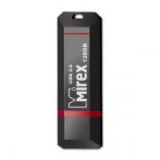 128Gb Mirex KNIGHT Black USB3.0 (13600-FM3BK128)