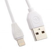 Кабель USB 2.0 Am=>Apple 8 pin Lightning, 1 м, белый, WK RC-050i (0L-00034819)