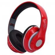 Гарнитура Bluetooth LP STN13, MP3, FM, накладная, красная (0L-00038723)