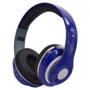 Гарнитура Bluetooth LP STN13, MP3, FM, накладная, синяя (0L-00038722)