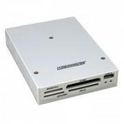 Карт-ридер внутренний 3.5 Microsonic CR09 Internal White