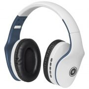 Гарнитура Bluetooth DEFENDER B525 FreeMotion, MP3, FM, бело-синяя (63526)