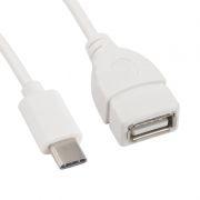 Адаптер OTG USB 3.1 Type C(m) - USB 2.0 Af, 0.15 м, белый (0L-00003011)
