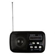 Мини аудио система WS-882 Black, MP3/FM/AUX/USB/microSD (0L-00028118)